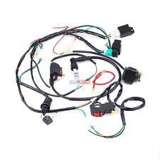110cc atv parts full electrics wiring harness coil cdi 50 110cc atv quad bike buggy go kart