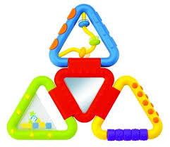 <b>Развивающая игрушка B</b> kids Веселые треугольнички — купить ...
