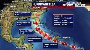 Hurricane Elsa could swing north toward ...