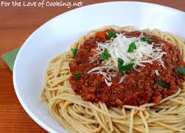 whole wheat pasta cooked. Modren Pasta Whole Wheat Spaghetti With A Slow Simmered Meat Sauce On Pasta Cooked