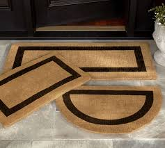 outdoor front door matsPicture Frame Doormat  Pottery Barn