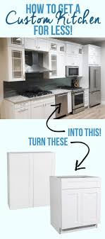 Kitchen Cabinets For Less 17 Best Images About White Kitchens On Pinterest White Shaker