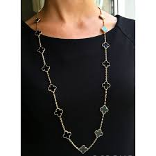 van cleef arpels alhambra long necklace photo a104936 a