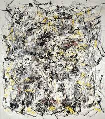'Portrait of V.I. Lenin with Cap, in the <b>Style</b> of <b>Jackson Pollock</b> III', Art ...