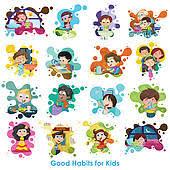 Chart On Healthy Habits Good Habits Chart Clipart Panda Free Clipart Images