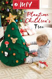 Put your sewing skills to the test this holiday season with this  interactive, felt Christmas tree. This project is fun for the kids to help  decorate and ...
