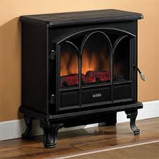 electric fireplace stove. duraflame 750 black electric fireplace stove with remote control - dfs-750-1 t
