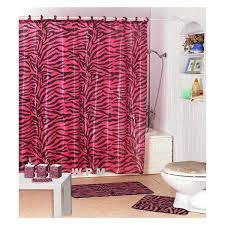 photo gallery for pink and black bathroom rugs