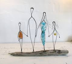 Wire Art Research On Easy Human Figure Of Wire Sculpture All About