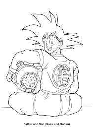 All Dragon Ball Z Coloring Pages Bing Images Dbz Dragon Ball Z