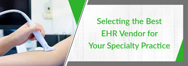 Matrix Electronic Charting Selecting The Best Ehr Vendor For Your Specialty Practice