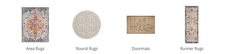 area rugs round rugs doormats runner rugs