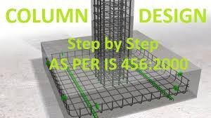 Rcc Column Design Ppt Design Of Rcc Columns As Per Is 456 2000 Limit State Design Mumbai University