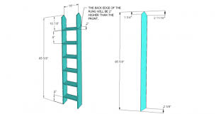 bunk bed with stairs plans. You Can Build This! The Design Confidential\u0027s Free Woodworking Plans To  An RH Inspired Bunk Bed With Stairs Plans