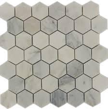 white large hexagon tile backsplash hexagon glass tile backsplash home design ideas in large hexagon tile