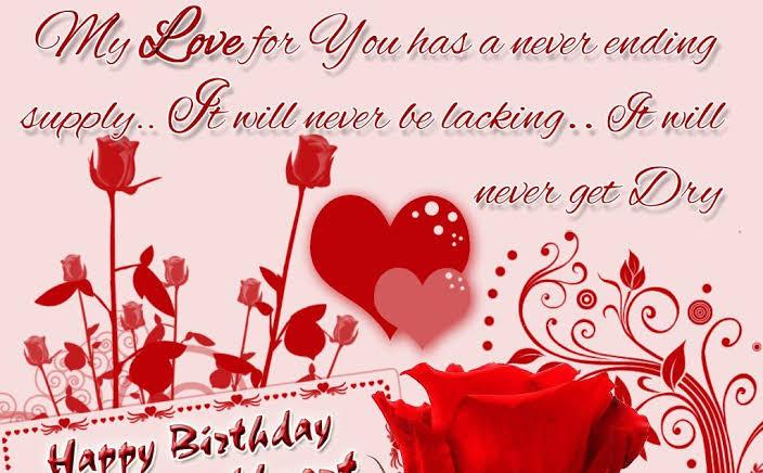 romantic birthday shayari for girlfriend