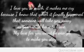 Sad Hindi Quotes Mesmerizing Love Crying Quotes Pic