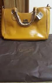 ... Coach-Legacy-Large-Brass-Satchel-ABY-NWT