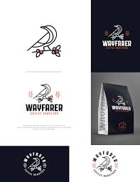 Choosing a selection results in a full page refresh. Traditional Conservative Logo Design For Wayfarer Coffee Roasters By Arthy Design 20004878