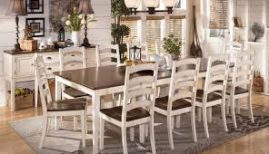 off table round furniture room sets chairs white dining and distressed pine large wood small alluring