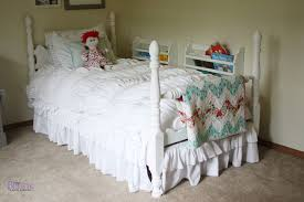girls bed skirt. Contemporary Girls Eu0027s Bed Doesnu0027t Have A Boxspring Because She Is Only Three And Would  Hard Time Climbing On Off The Bed Instead Has Piece Of Wood Under  To Girls Bed Skirt