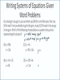 algebra word problems worksheets linear equations worksheet along with systems inequalities