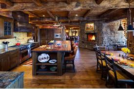 French 15 Rustic Kitchen Designs With Exposed Roof Beams Rilane 15 Rustic Kitchen Designs With Exposed Roof Beams Rilane