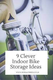 Indoor Bike Storage Clever Indoor Bike Storage Ideas Moral Fibres Uk Eco Green Blog