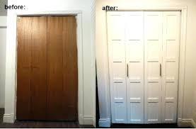accordion closet doors photo 6 of bi fold door makeover 48 vinyl x 96