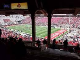 Horseshoe Osu Seating Chart Seat View Reviews From Ohio Stadium Home Of Ohio State Buckeyes