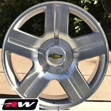 Chevrolet Silverado Wheels Texas Edition Rims Silver Machined Rims ...