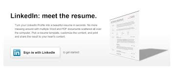 Linked In Resume How To Convert LinkedIn Profile As Resume CV Technology Speaks 46