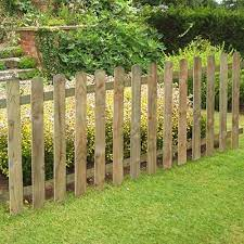 wooden fence panels for a front garden