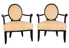 barbara barry furniture. Pair Of Oval X Back Chairs By Barbara Barry For Baker Furniture (55821)