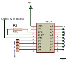 Ht12d Circuit Diagram In 2019 Circuit Diagram Circuit