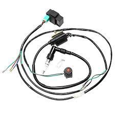 amazon com wphmoto cdi ignition coil spark plug wire harness wiring spark plug wire harness 2005 nissan maxima at Spark Plug Wire Harness