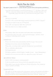 Different Birth Plan Options Printable C Section Birth Plan Online Template Strand