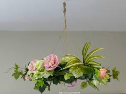 diy fl chandelier via beauteefulliving