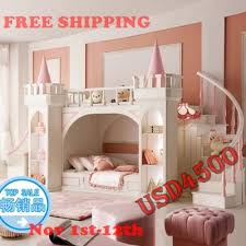 bunk beds with slides for girls. Wonderful Girls Princess Castle Bunk Beds  Twin Childrenu0027s Furniture For Girls With  Ladder Book Cabinet And Slides From China Marketin Bedroom Sets Furniture  Throughout Beds With Slides For Girls I