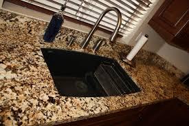 granite countertop undermount sink
