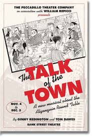 the peccadillo theater company s ion of the talk of the town by ginny redington and tom dawes