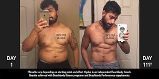 body beast results ogden lost 48 pounds and won 500 the beachbody