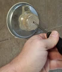 remove replace bathtub shower fixtures 4