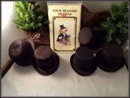 1990 HOBO CLOWN DOLL PATTERN BY JEANNINE BIRD W/ 4 FELT TOP HATS + 1 FELT  DERBY | eBay