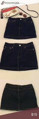 Urban Outfitters Bdg Blue Mini Skirt Size 25 Fashion