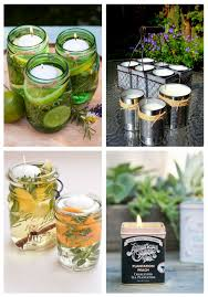 23 diy citronella candles to keep the insects away