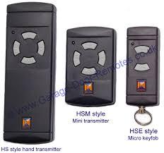 hormann garage door openerHormann remote control hand transmitters