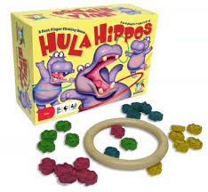 Wooden Hoop Game Gamewright Hula Hippos™ Game 10000 wooden hippos 100 wooden hoop No 41