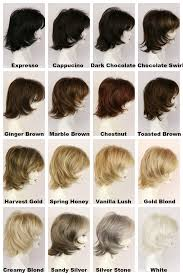 Chestnut Hair Colour Chart Katie Medium Wig