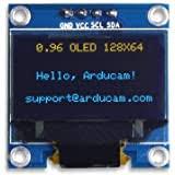 """Adafruit <b>0.56</b>"""" <b>4</b>-<b>Digit 7</b>-<b>Segment</b> Display w/I2C Backpack - Yellow ..."""